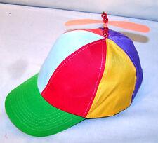KIDS PROPELLER HELICOPTER NOVELTY HATS joke funny gag child copter spinning hat