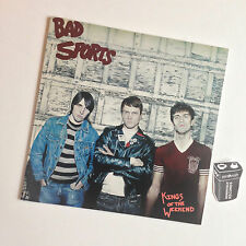 Kings Of The Weekend—Bad Sports—LP Vinyl Record—Drives Like Jehu
