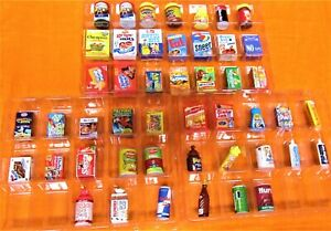 WACKY PACKAGES MINIS 3D PRODUCTS- Series 2-  47PCS (NO DUPES), w/ RARES & HTF