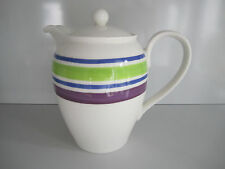 Rosenthal CASUAL Designers Guild KAFFEEKANNE  blau grün Coffe Pot