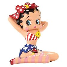Britto Betty Boop With Red Bow Mini Figurine Decoration 4049703
