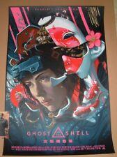 Ghost In The Shell Juan Carlos Ruiz Burgos Movie Poster Print Art 2017
