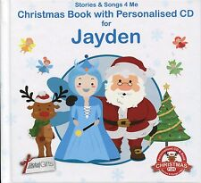 CHRISTMAS BOOK WITH PERSONALISED CD FOR JAYDEN - STORIES & SONGS 4 ME