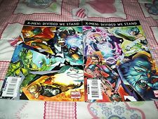 X-Men Divided We Stand #1 2 of 2 Nightcrawler Iceman Beast Marvel Comics Fs