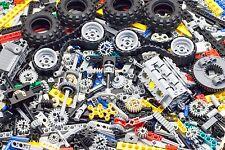 1000 LEGO Pieces Technic Parts Set Wheels Gears Motor Huge Treads Lot 2lbs 1kg