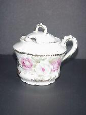 Royal Bavaria Germany Porcelain Condiment Jam Jelly Jar & Spoon