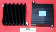 Aluminium anodisé dissipateur de chaleur 55 x 58 x 18 mm Push-Pin