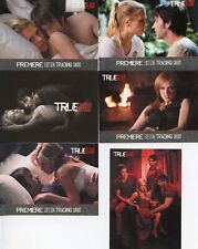 True Blood Premiere Edition Promo Card Lot 6 Cards