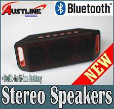 Wireless Bluetooth V3.0 Stereo Speaker Handsfree for iPhone 7 Samsung *40%off*