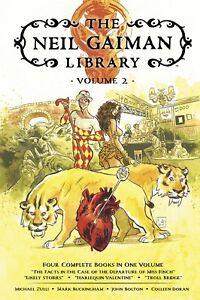 Neil Gaiman Library Volume 2 Hardcover GN Zulli Bolton Buckingham Sandman New NM