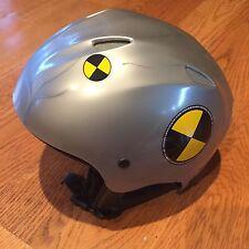 BOERI Youth Kids Unisex Boys Girls Medium M Gray Ski Snowboard Helmet 52-53 cm!