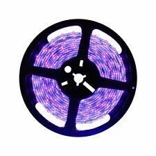 5M UV Schwarzlicht LED Streifen 5050 SMD | UV LED Strip 300 LEDs Lichtband 12V