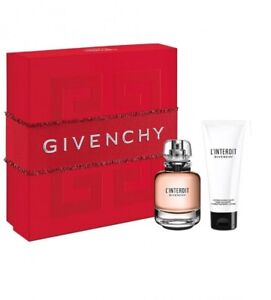 Givenchy L'Interdit Pour Femme - Gift Set With 50ml EDP Spray and 75ml Body Loti