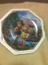 1990 Hummel Collector Plate-Hello Down There-Danbury -#F4911-Free Ship-Euc