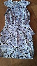 Maurie & Eve Peplum Dress Size 8
