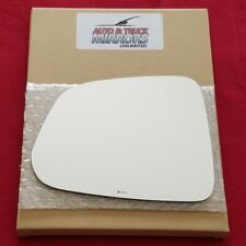 Mirror Glass + Adhesive For 12-15 Chevy Captiva Sport Driver Side Replacement