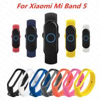 Fit Xiaomi Band 5 Mi 5 Camouflage Bracelet Strap Silicone Wristband Smart Watch*