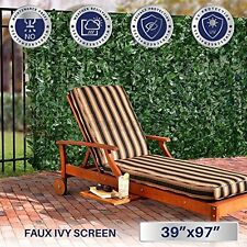 39in Tall Privacy Fence Screen Decoration Panels Windscreen Patio Wall Cover 39i