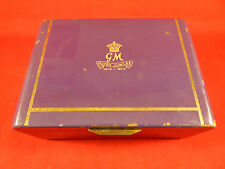 STATE EXPRESS CIGARETTE BOX COMMEMORATING GEORGE V SILVER JUBILEE 1910 TO 1935