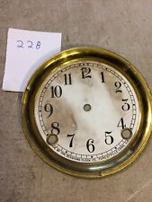 SESSIONS  MANTLE CLOCK  DIAL