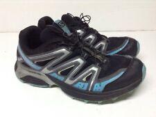 SALOMON HORNET XT WOMEN'S TRAIL RUNNING SHOES SZ 8 BLACK/BLUE