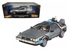 HOT WHEELS 1:18 ELITE HERITAGE BACK TO THE FUTURE - TIME MACHINE Diecast Car DMC