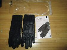 Gant en cuir,uni noir,Taille Unique,marque Esmara,neuf!
