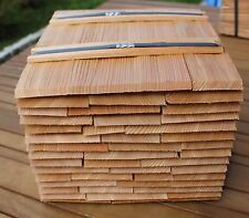 Lärchenschindeln 30cm, gespalten - Holzschindeln Gartenhaus Vordach Spielhaus