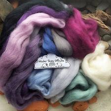 100g Wool Roving off Cuts / Merino, British, Natural, Needle felting