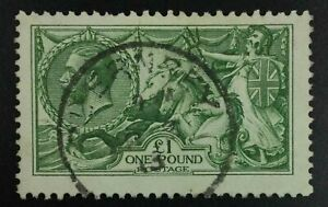 MOMEN: GREAT BRITAIN SG #403 1913 USED £1,400 LOT #63181