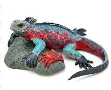 Japan Colorata Marine Iguana Lizard pvc mini figurine Figure Model