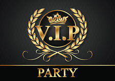 VIP Invitations - 6 CHIC invitation cards/tickets to V.I.P. Party