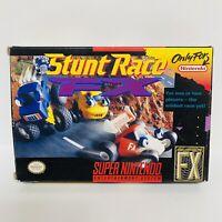 Stunt Race FX - Box & Cartridge Only (Super Nintendo) SNES - FAST SHIPPING