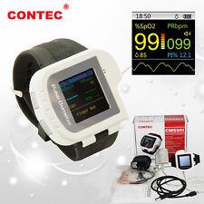 CONTEC CMS50I Wrist Digital Pulse Oximeter SPO2 PR Monitor Blood Oxygen CE FDA
