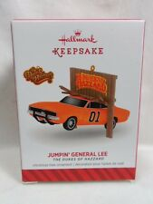 2014 HALLMARK Keepsake Ornament Jumpin General Lee The Dukes of Hazzard Loc B40