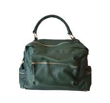 Borsa in vera pelle Bag leather donna verde  кожаная сумка bags woman 5