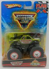 Hot Wheels *MONSTER JAM* WRECKING CREW GREEN SPECTRAFLAMES Monster Truck *NIP*