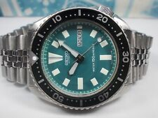 SEIKO 150M DAY/DATE DIVERS AUTO MENS WATCH 6309-7290, GREEN (SN 783178)
