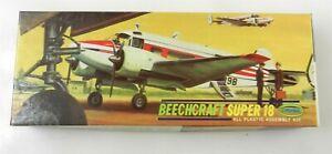 Aurora #83-79 Beechcraft Super 18 Plastic Model Kit - NOS ~ T122