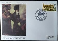 1970 American War Of Independence COVER bfps 1204  Group 2 - Cover 1