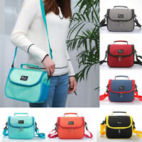 Mini Thermal Insulated Lunch Bag For Kids Boy Girl School Adult Lunch Box Cooler