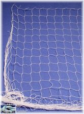 Schutznetz weiß 3 Meter BREIT, Dekonetz, Ballfangnetz, 50mm Masche, 1mm stark