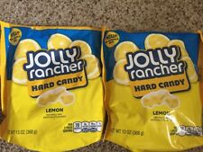 NEW Jolly Rancher Hard Candy, Lemon, 13-Ounce bags, Lot of 2 Sealed Fresh