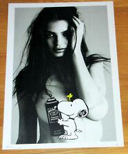 LARGE DEATH NYC - Ratajkowski & Friends A/P Print - NYC COA & Sticker 45 x 32