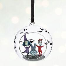 2016 Lock Shock & Barrel Nightmare Before Christmas Ornament Disney Store NEW