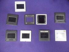 6 Gepe Glass Slide Mounts  Gray/White 35mm 24x36mm PRINTING EQUIPMENT 2mm