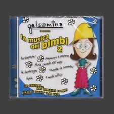 CD SIGLE CARTONI TV GELSOMINA 2 LA MUSICA DEI BIMBI NUOVO SIGILLATO