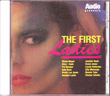 Audio-Audio presents the first ladies-RARE Audiophile CD 1987 Giappone