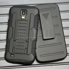 Rugged Armor Hybrid Impact Case Hard Cover For Samsung Galaxy S4 Active I537