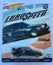 Hot Wheels Car Euro Speed Mercedes Benz 190E 2.5 16 EVO II AMG GT McLaren Oem